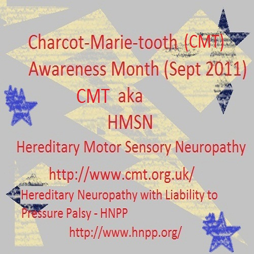 Cmt jon 39 s slice of life Hereditary motor neuropathy